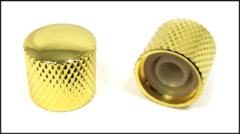 2-pack Gold Dome Press-Fit Knobs
