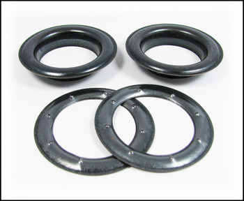 2-pack Large (1.5-inch) Black Oxide Grommets w/Washers