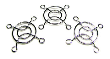 3pc. 40mm Chrome Wire Soundhole/Speaker Covers