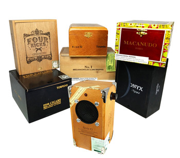 Cigar Box Guitar Amplifier KIT with All-wood box & Pre-wired Leads - Full How-to Video!