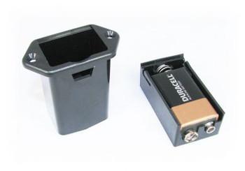 2pc. External Mount 9V Battery Tray