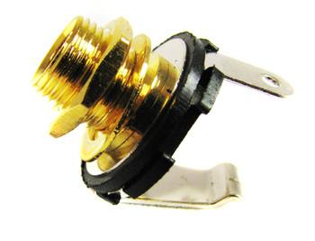 3-pack 1/4-inch Gold Mono Jacks