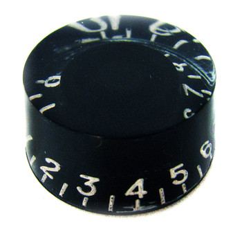 2pc. Black Gibson(tm)-style Acrylic Speed Knobs
