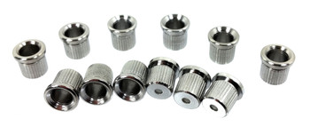 12pc. Chrome Cup-style String Ferrules