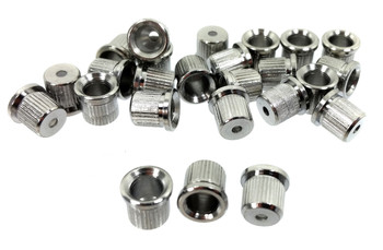 25pc. Chrome Cup-style String Ferrules