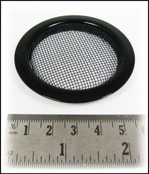 8pc. Black Screened Sound Hole Inserts