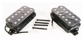 Classic Black Humbucker Set - Neck and Bridge Matched Pair