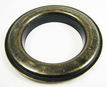 "2-pack Large (1.5"") Antique Brass Grommets w/Washers"
