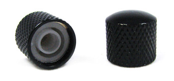 2-pack Black Dome Press-Fit Knobs