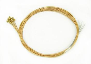 """22-gauge (.022"""") Phosphor Bronze Wound Guitar Strings (12-pack)"""