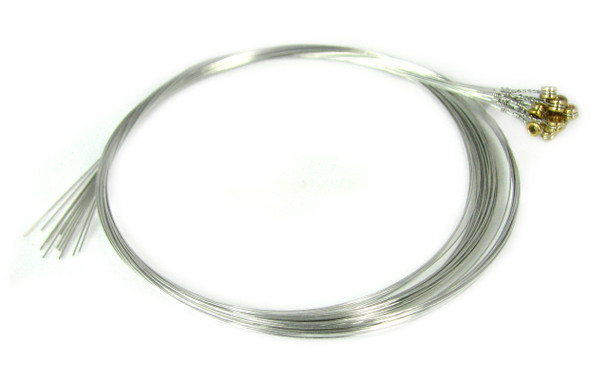 "15-gauge (.015"") Steel Strings for Guitar (12-pack)"