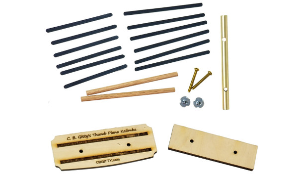 Kalimba/Thumb Piano Hardware Parts Kit