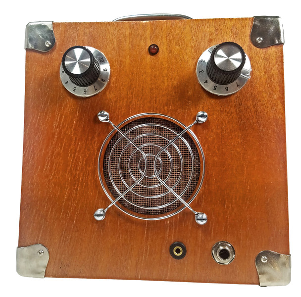 C. B. Gitty Cigar Box Standard Amplifier #4: Vintage-Style Solid Wood Acid Box