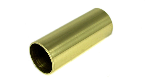 Polished Brass Guitar Slide: 2 1/4-inch Length - Made in the USA!
