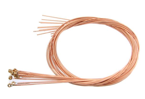 """52-gauge (.052"""") Phosphor Bronze Wound Guitar Strings (12-pack)"""