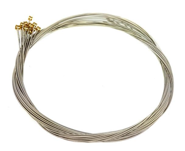 """32-gauge (.032"""") Nickel Wound Electric Guitar Strings (12-pack)"""