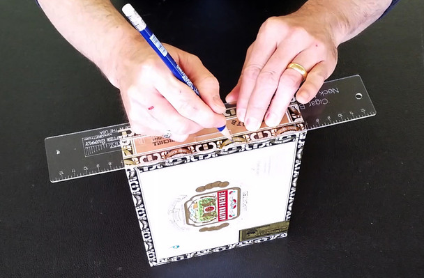Cigar Box Guitar Neck Notching Template - save time and increase accuracy!