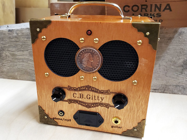 "The ""Copper Cent"" Cigar Box Amplifier - Classic Look, Awesome Sound"