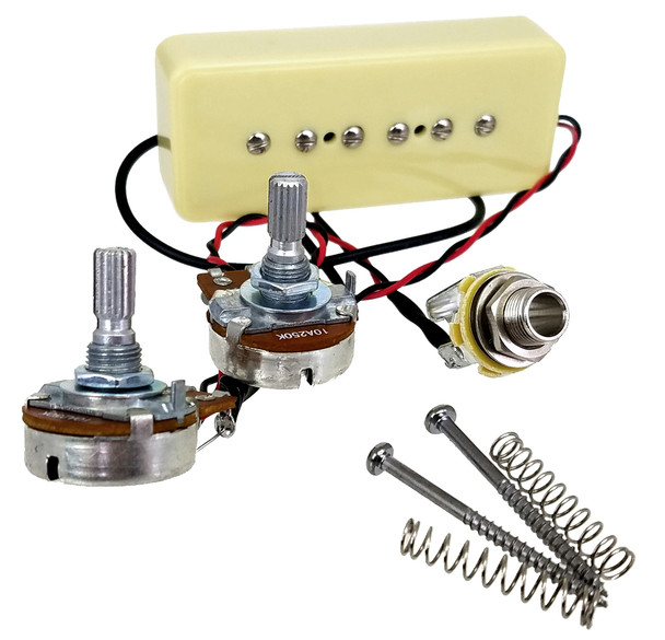 Soapbar P-90-style No-Solder Pickup with Volume & Tone