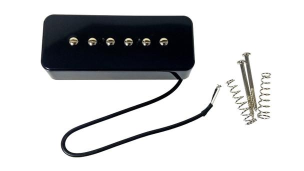 "The C. B. Gitty ""Soap Bar"" P90-Style Electric Guitar Pickup - Black"