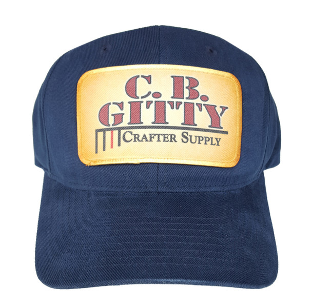 Dark Blue C. B. Gitty Trucker Hat