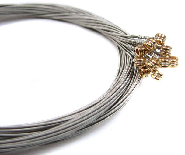 """38-gauge (.038"""") Nickel Wound Electric Guitar Strings (12-pack)"""