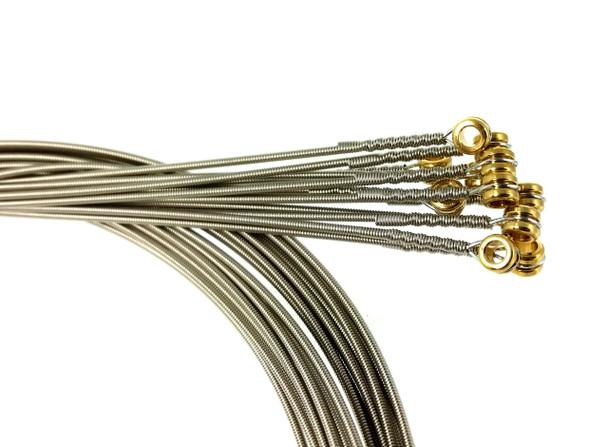 """40-gauge (.040"""") Nickel Wound Electric Guitar Strings (12-pack)"""