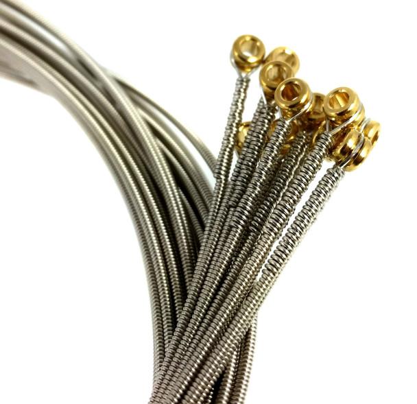 """56-gauge (.056"""") Nickel Wound Electric Guitar Strings (12-pack)"""
