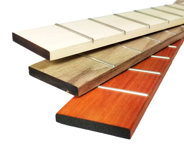 23-inch Scale Cigar Box Guitar Fretboards - Choose Wood & Fretting Options!