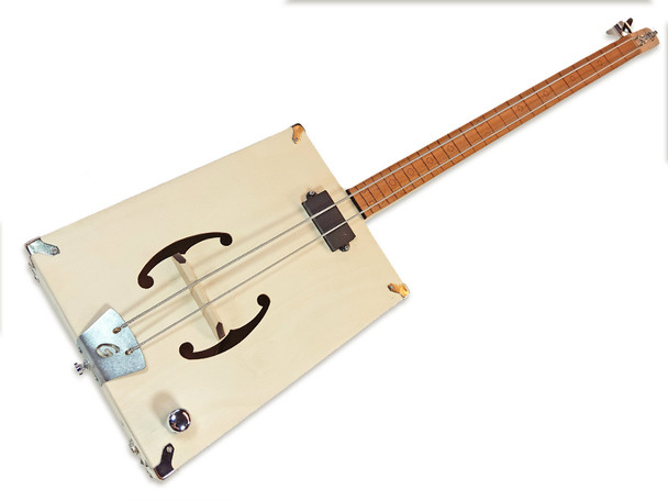 "The ""G-Bass"" 2-string DIY  Electric Bass Guitar Kit"