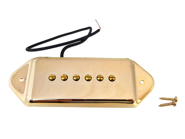 "Gold ""Dog Ear"" Soapbar 6-string Pickup"