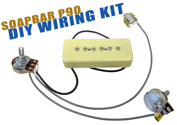 Soap Bar P-90 DIY Pickup Harness Wiring Kit