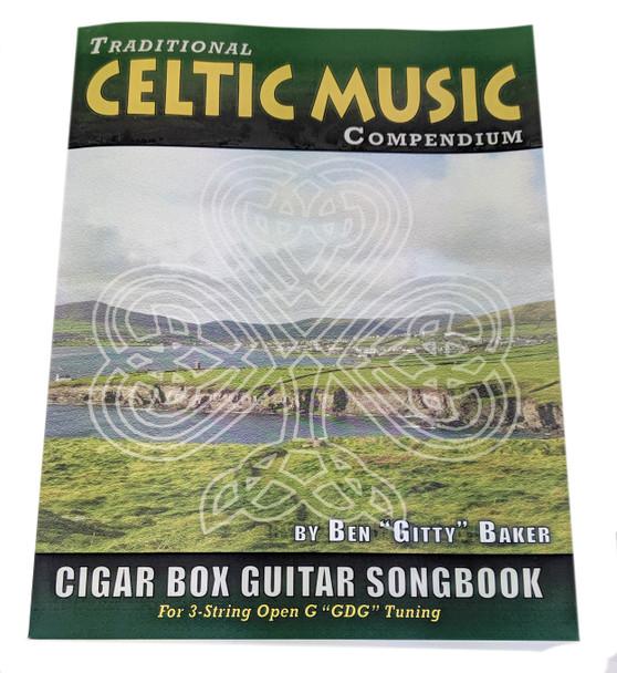 Celtic (Irish) Traditional Music Compendium - Massive Single Volume Edition - 177 Songs Tablature for 3-string GDG