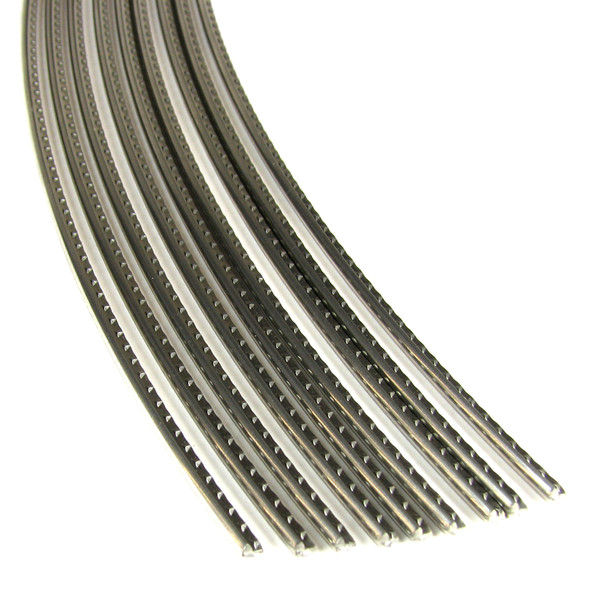 Jescar Medium/Medium Stainless Steel Fret Wire (6 ft)
