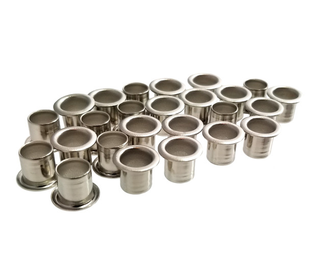 25-pack 1/4-inch Tuner Bushings/Ferrules - choose finish color