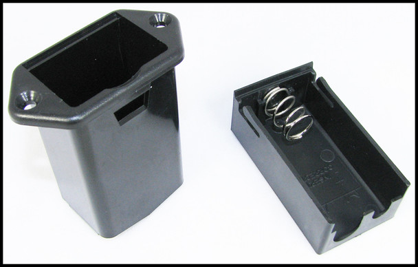 2pc. External Mount 9V Battery Tray