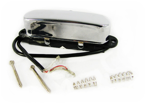 Chrome Enclosed Single-Coil Magnetic Pickup