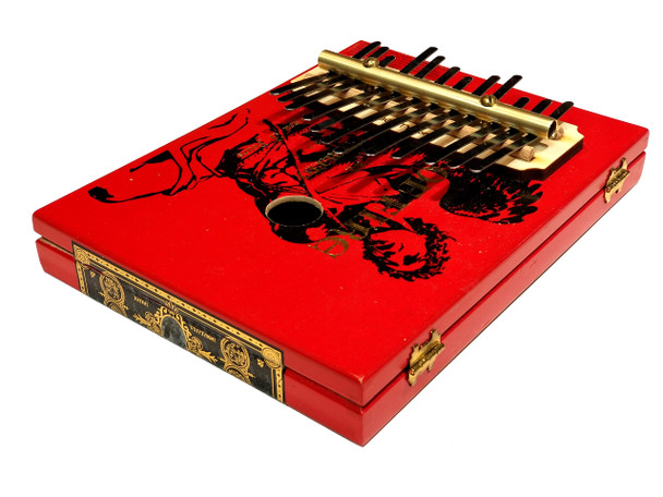 Cigar Box Kalimba Kit - Includes Cigar Box, Complete Hardware and Instructions