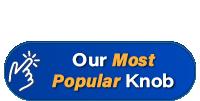 Our most popular guitar knob