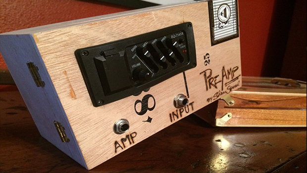Easy Diy Pre Amp Makes Piezo Equipped Cigar Box Guitars Sound Better C B Gitty Crafter Supply