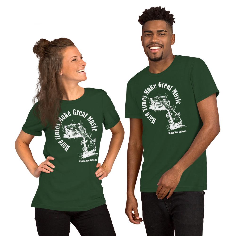 Premium Shirt Option (White print on dark fabric)