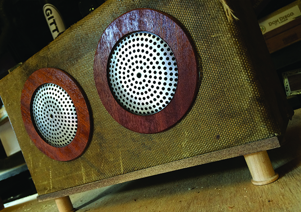 easy project build this dual speaker tweed guitar amplifier c b gitty crafter supply. Black Bedroom Furniture Sets. Home Design Ideas