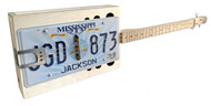 "The ""Reso-Plate"" 3-string License Plate Resonator Guitar Kit"