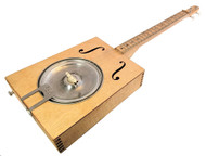 """Hubcap Howler"" Resonator Guitar Kit - Authentic Blues"