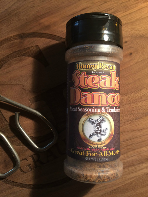 Steak Dance Honey Pecan Meat Seasoning  & Tenderizer (6 oz)