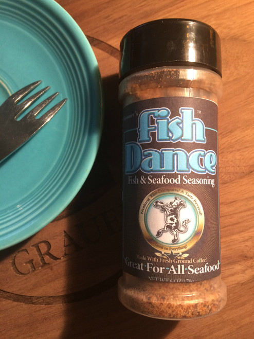 Fish Dance Seasoning  (6 oz)