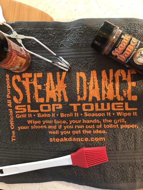 Official All Purpose Steak Dance Slop Towel