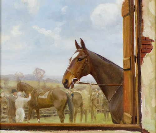 'The Paddock' by Frances Mabel Hollams
