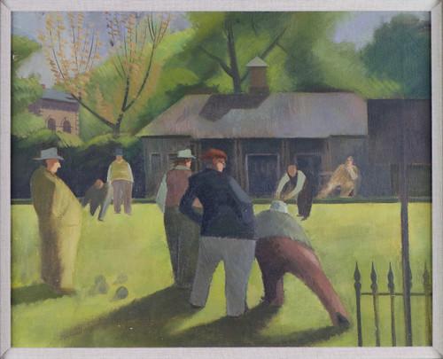 'The Bowling Match' by Mervyn Boyson, ARCA