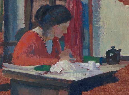 'L'Escritoire' (The Writing Desk) by Francis. E. Jackson